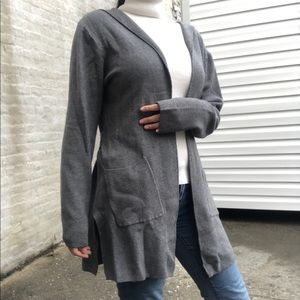 Sweaters - NEW Women's Gray Open Front Cardigan